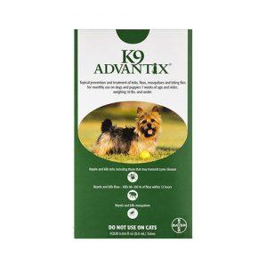 K9-Advantix-Small-DogsPups-1-10-lbs-Green- CanadaVetCare.com