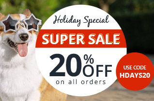 Holiday Sale on Pet Supplies