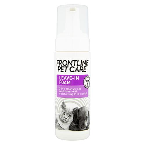 Frontline Pet Care Leave-In Foam