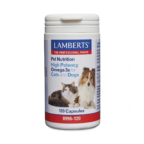Lamberts High Potency Omega 3s for Dogs and Cats